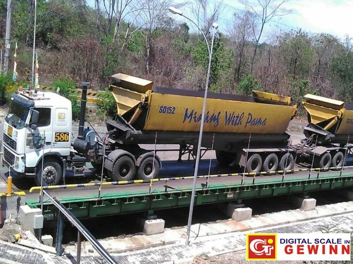 daftar perusahaan tambang batu bara dan mineral lainnya yang menggunakan jembatan timbang gewinn