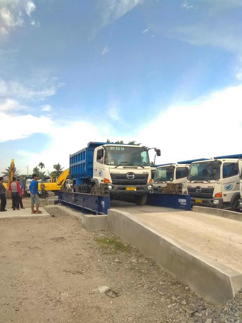 jembatan timbang gewinn di perusahaan industri indonesia