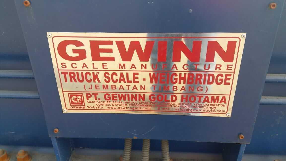 gewinn truck scale and weighbridge