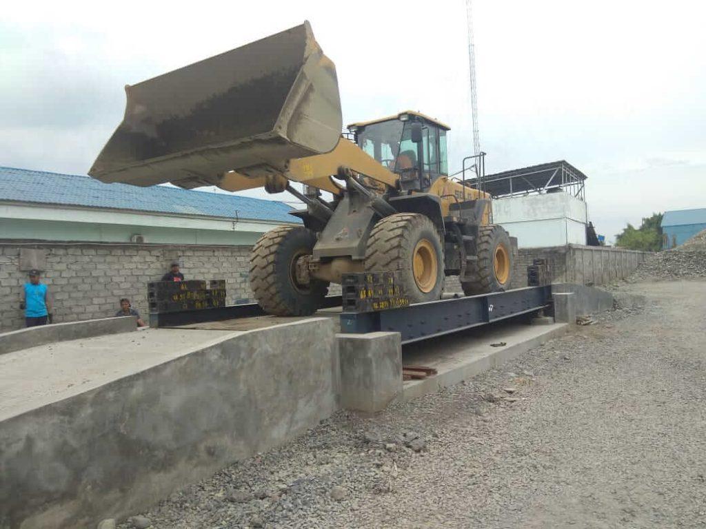 jembatan timbang Gewinn 20 ton, 30 ton, 40 ton, 50 ton, 60 ton, 80 ton, 100 ton, 120 ton, 150 ton, hingga 200 ton