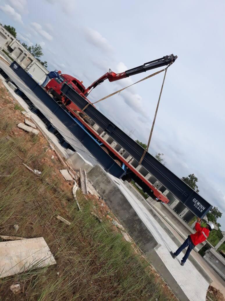 jembatan timbang untuk sektor infrastruktur