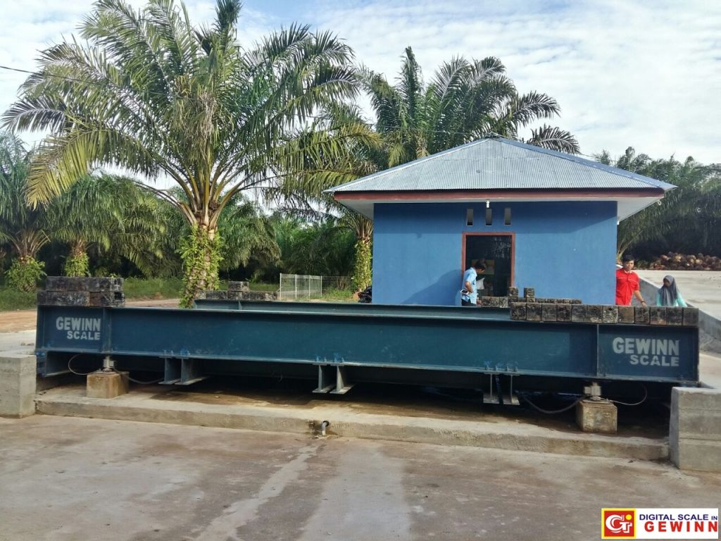 daftar perusahaan kelapa sawit kayu perkebunan yang menggunakan jembatan timbang gewinn