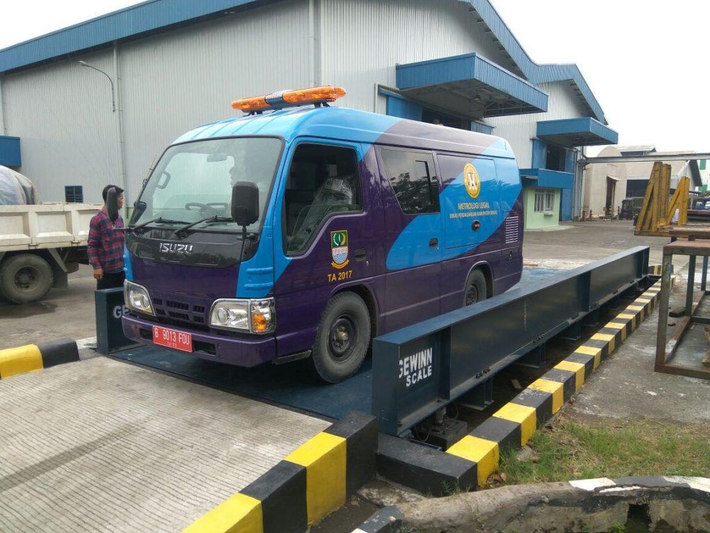 jasa tera ulang jembatan timbang dan kalibrasi timbangan truk
