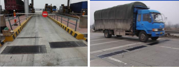penggunaan timbangan truk jalan tol