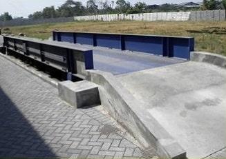 gambar jembatan timbang atas tanah