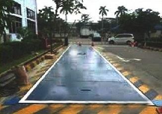gambar jembatan timbang rata tanah