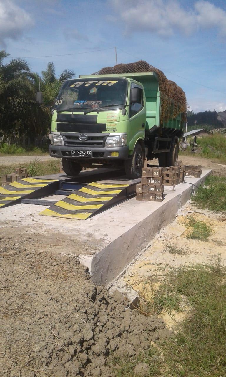 timbangan loading ramp sawit