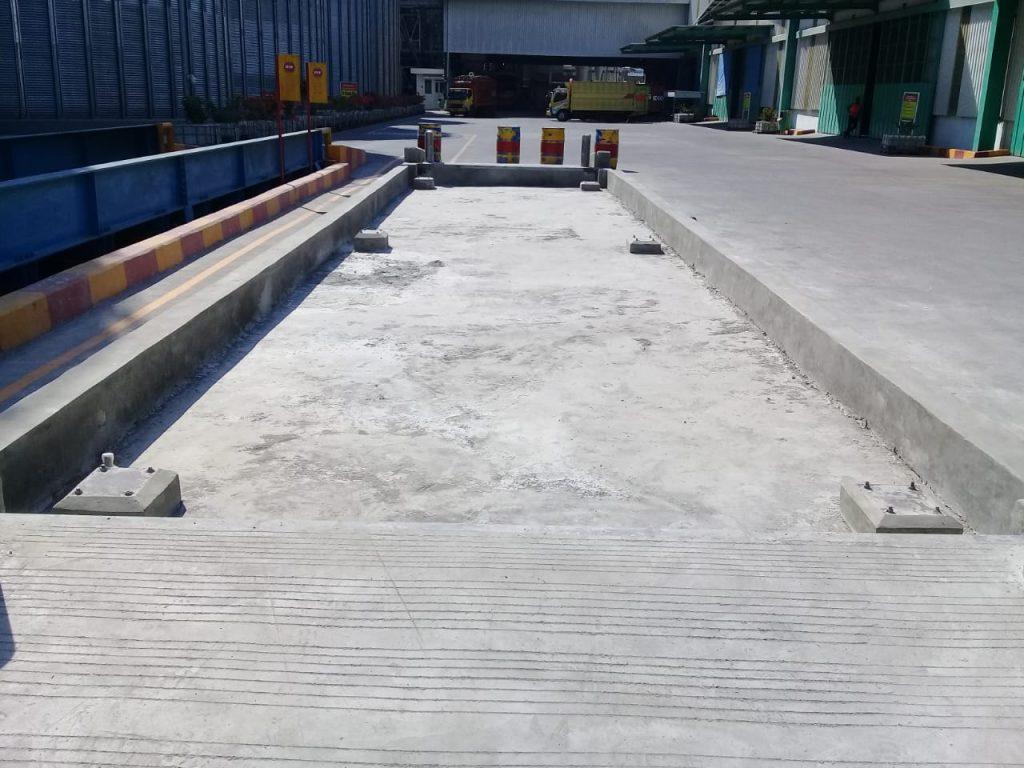 pondasi jembatan timbang